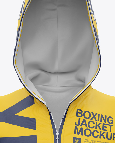 Boxing Kit Mockup - Front View