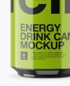 330ml Aluminium Can with Glossy Finish Mockup