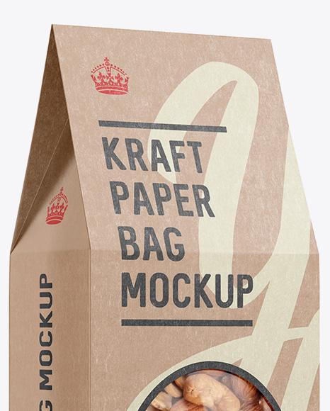 Download Food Bag Oatmeal Mockup PSD - Free PSD Mockup Templates