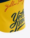 Men's Cycling Vest mockup (Back Half Side View)