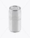 330ml Glossy Aluminium Can Mockup (High-Angle Shot)
