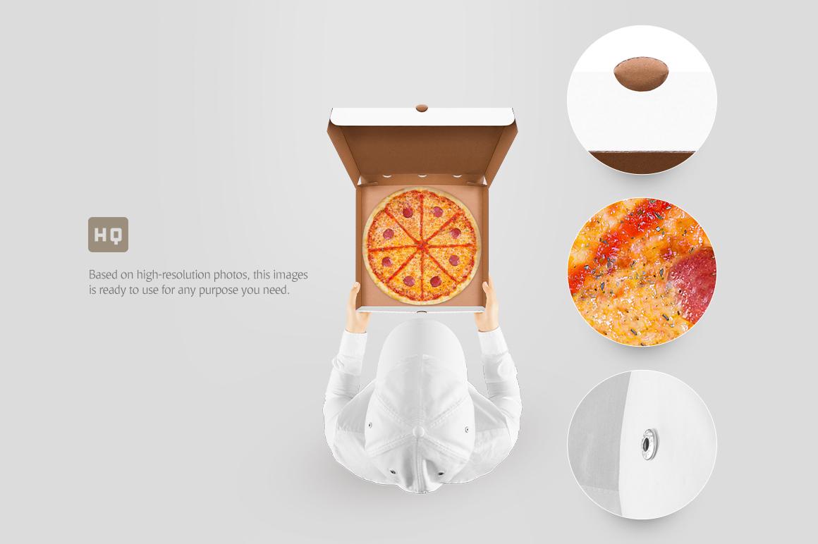 Pizza Box Mockup