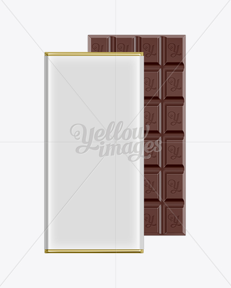 Chocolate Bar Packaging Mock-up
