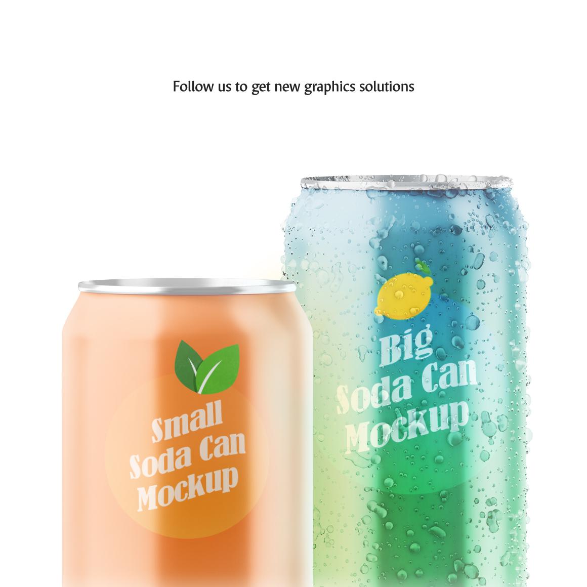 Soda Can Animated Mockup