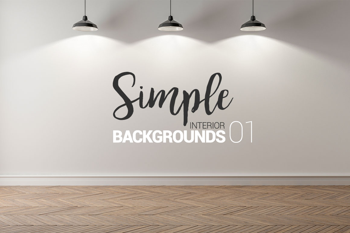 10 x Simple Interior Backgrounds 01