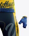 Men's Full Cycling Kit mockup (Front View)