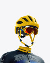 Men's Full Cycling Kit mockup (Hero Shot)