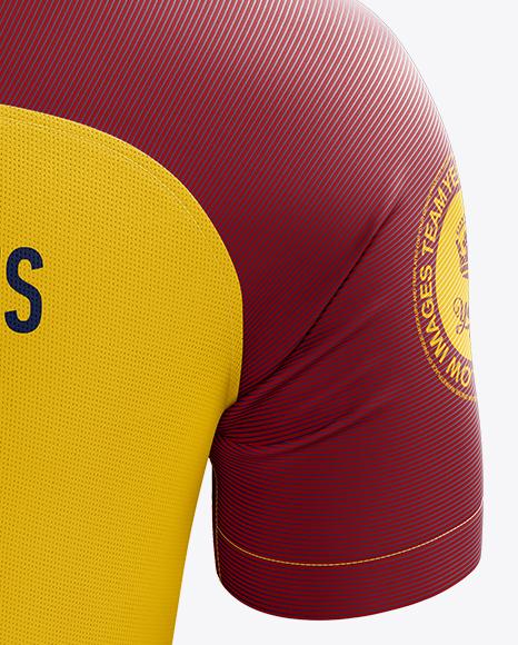 Men's Soccer Jersey mockup (Back View)