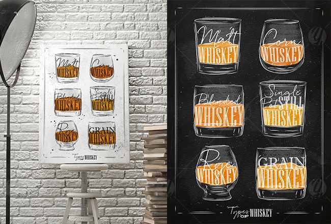 Poster Whiskey