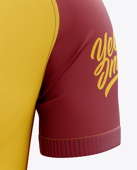 Men's Soccer Team Jersey mockup (Front View)
