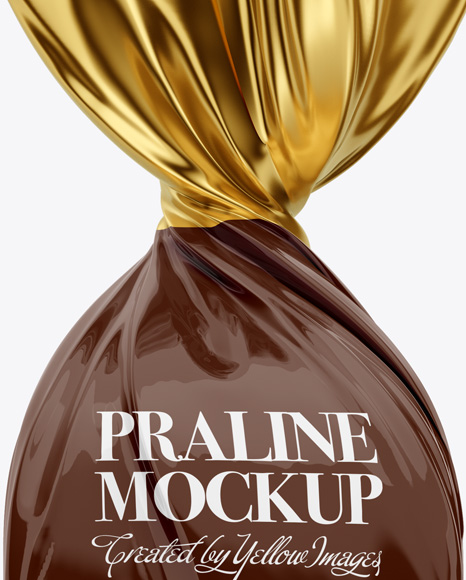 Twist Wrap Chocolate Mockup