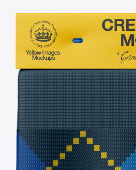 Download Pair Crew Socks Mockup Front View Yellowimages