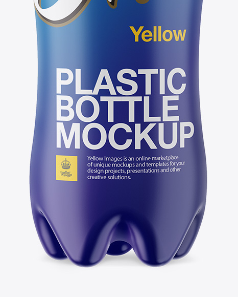 Matte PET Bottle Mockup