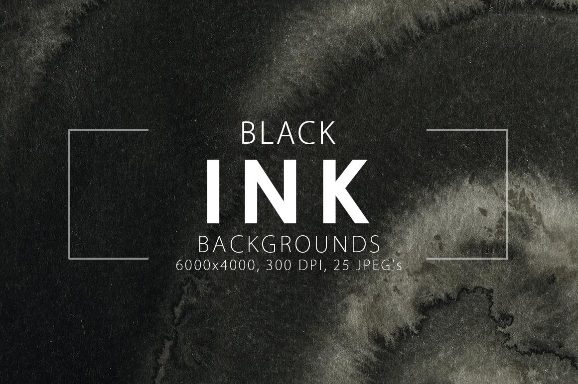 Black Ink Backgrounds