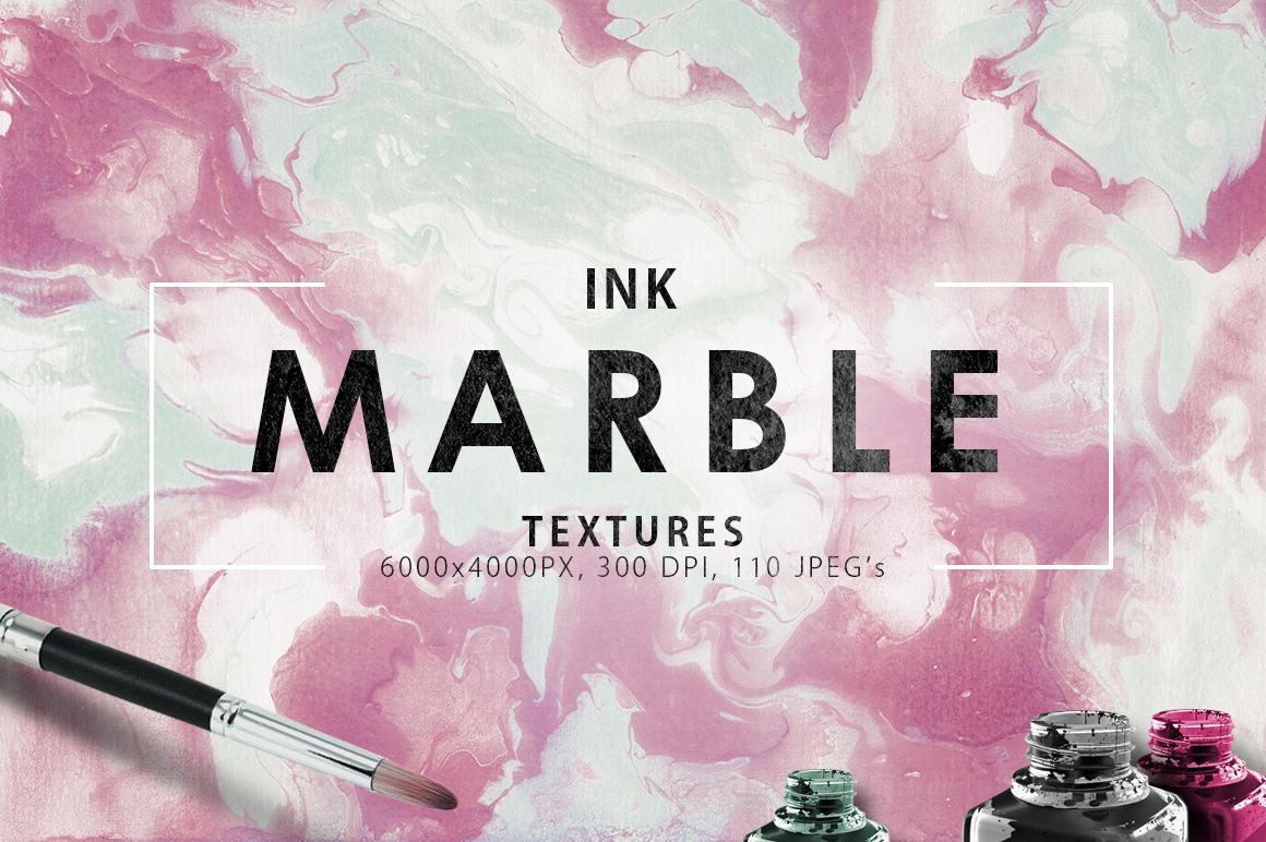 110 Marble Ink Paper Textures
