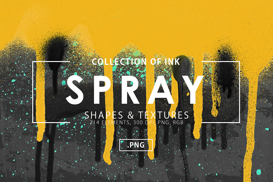 Spray Shapes & Textures