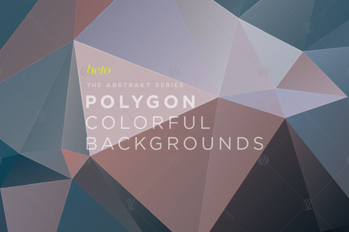 Polygon Abstract Backgrounds V2