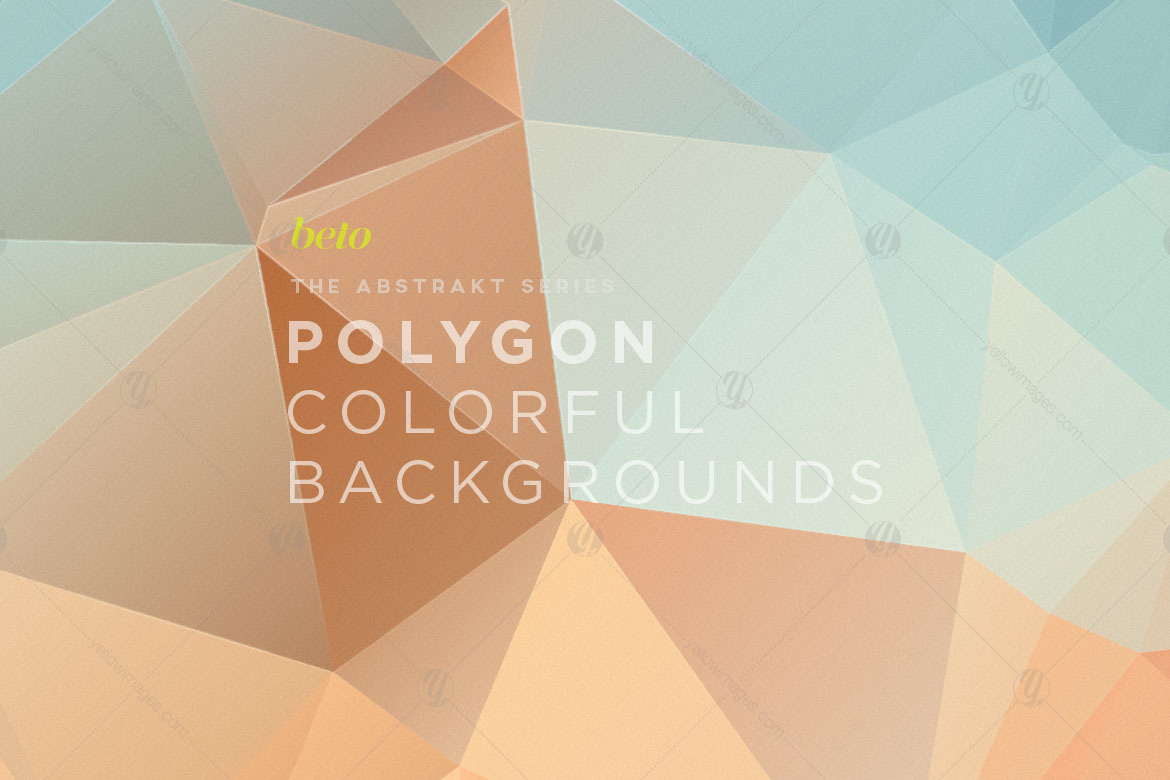 Polygon Abstract Backgrounds V13