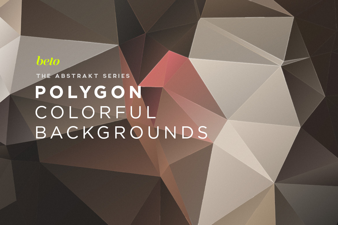 Polygon Abstract Backgrounds V15