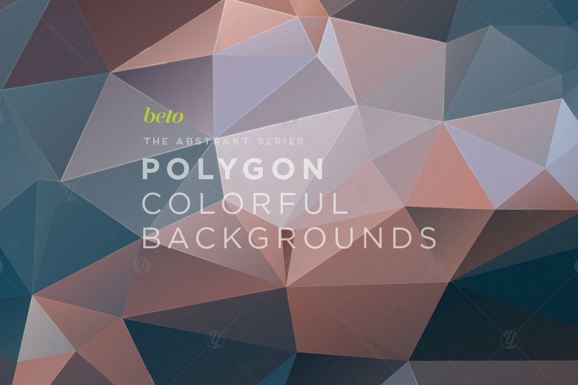 Polygon Abstract Backgrounds V17