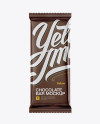 Matte Chocolate Bar Mockup