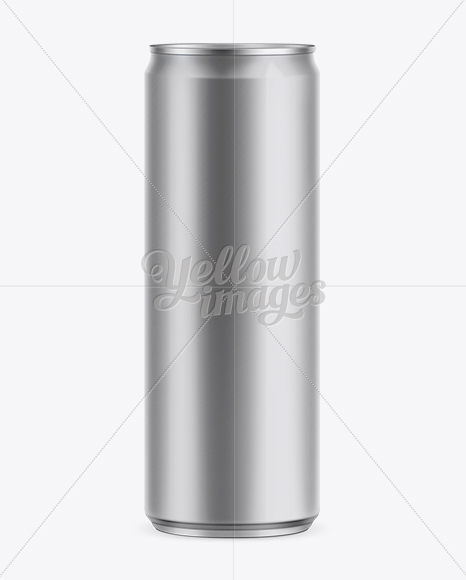 355ml Energy Drink Can Mockup