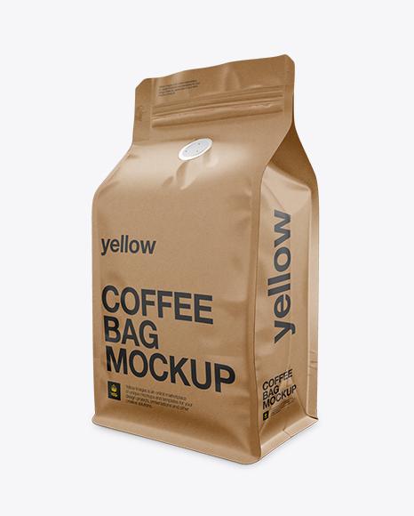 Download Coffee Bag Mockup PSD - Free PSD Mockup Templates