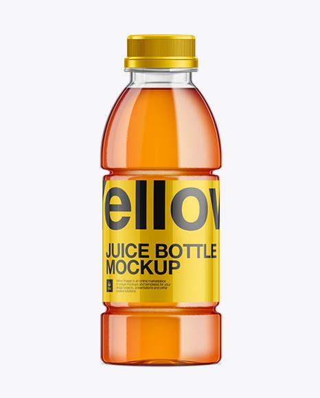 Download 500ml Clear Pet Bottle Mockup In Bottle Mockups On Yellow Images Object Mockups PSD Mockup Templates