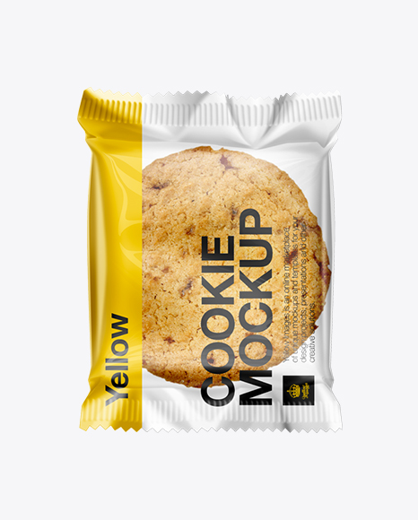 Individually Wrapped Cookie Mockup