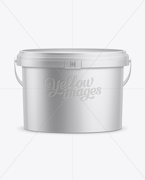5L Paint Bucket Mockup