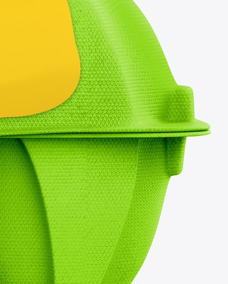 10 Egg Carton Mockup - Front, Top & Back Views