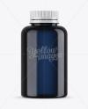 Blue Plastic Bottle Mockup