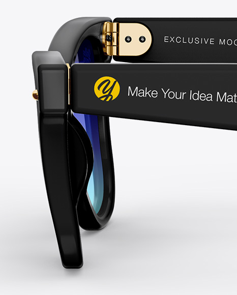 Sunglasses Mockup - Side View