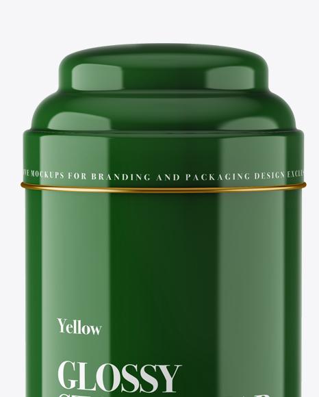 Glossy Storage Jar - Front View