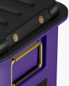 Matte Hard Case Mockup - Half Side View (High-Angle Shot)