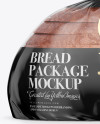 Bag W/ Sliced Bread Mockup - Front View