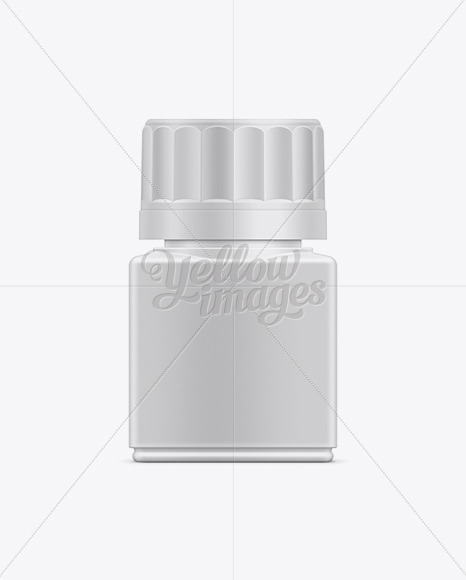 30ml Tablet Container Mockup