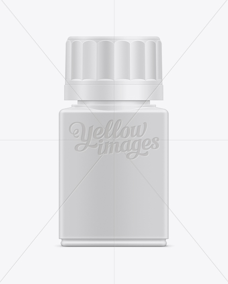 40ml Tablet Container Mockup