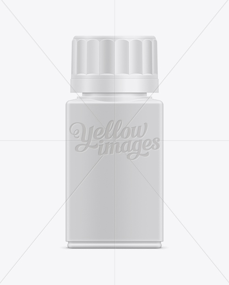 50ml Tablet Container Mockup