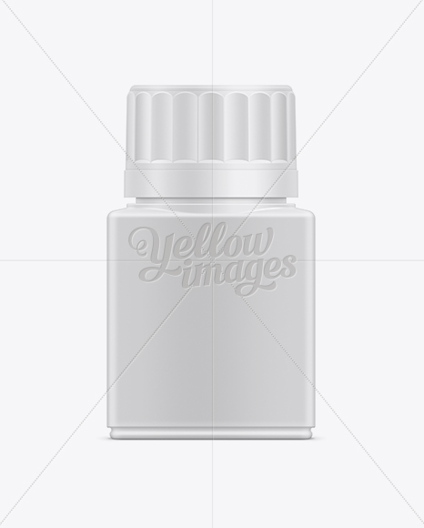 75ml Tablet Container Mockup