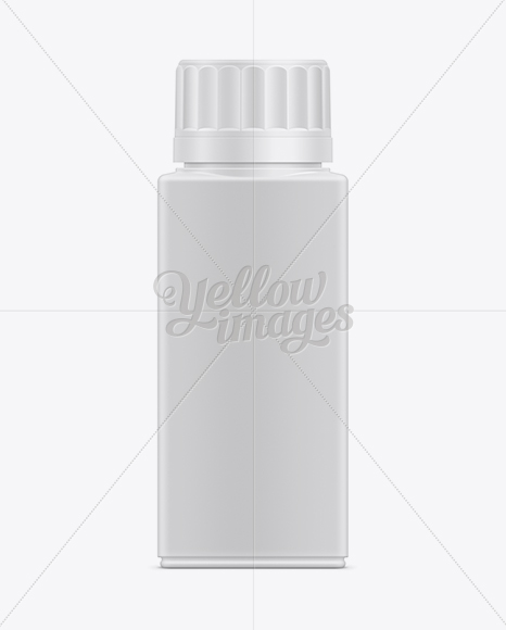 150ml Tablet Container Mockup