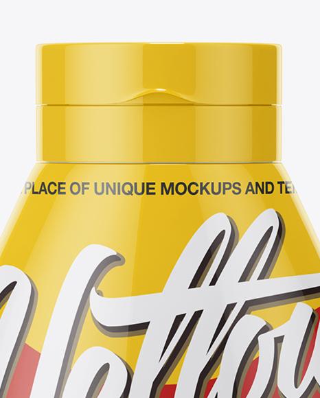 Ketchup Bottle Mockup