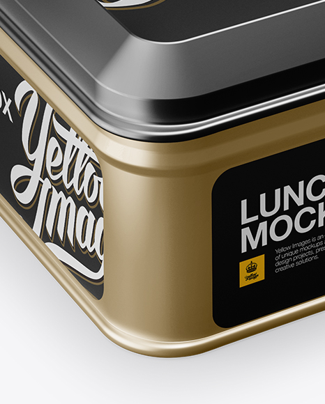 Lunch Box Mockup Psd