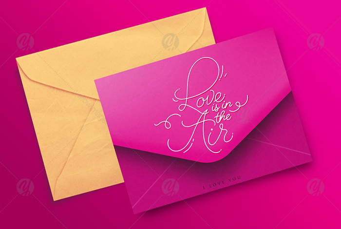 Greeting Valentines Envelopes