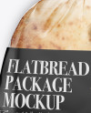 Bag W/ Flatbread Mockup