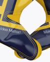 American Football Gloves mockup (Crossed)