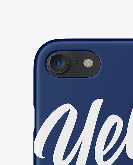 Iphone 7 Matte Case Mockup