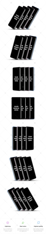 28x Samsung Galaxy S8 Mockups