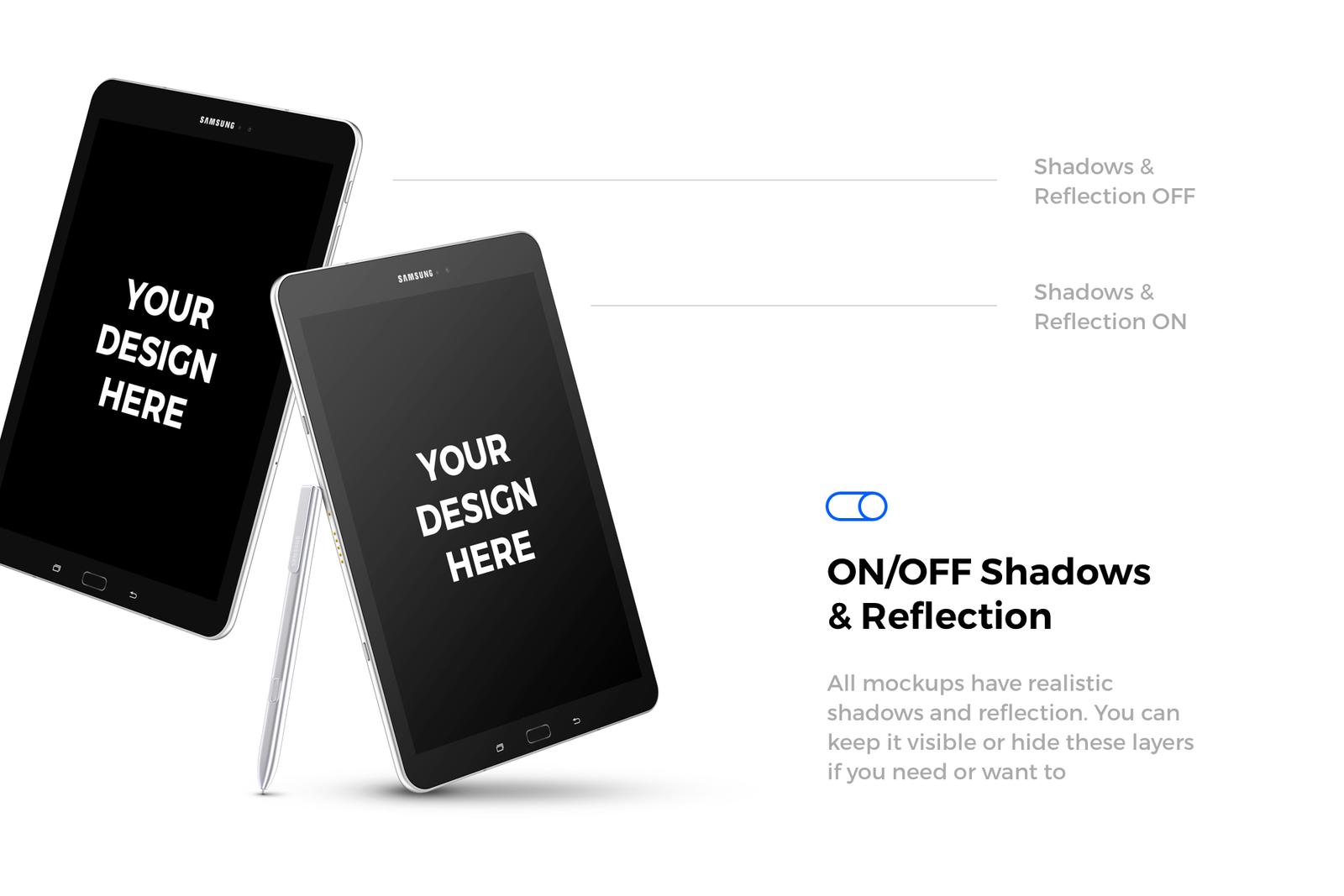 91x Android & Windows Mockups