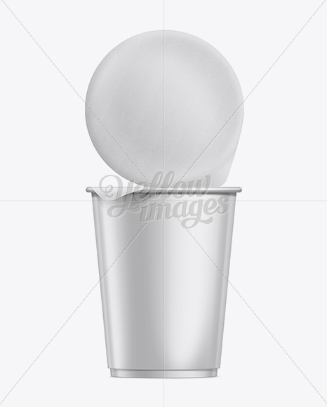 Download Plastic Cup With Musli Mockup Front View PSD - Free PSD Mockup Templates